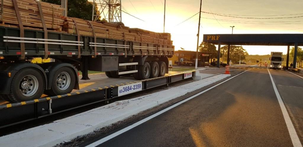 PRF inaugurou uma balança rodoviária em RondonópolisMT