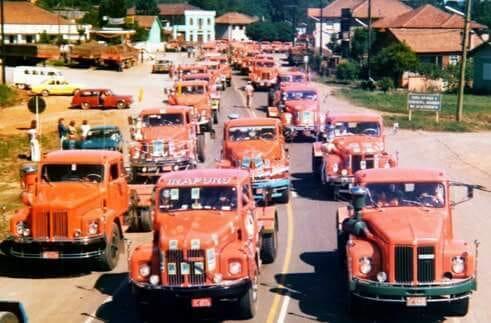 Festa de Nossa Senhora Aparecida, São Marcos - RS Década de 70