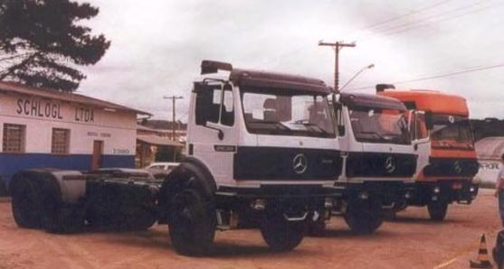 Mercedes-Benz SK-2638 6x4 V8 Importado Bug Pesado (1997)
