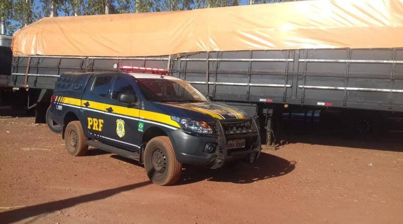 Carreta roubada em 1995 é recuperada pela PRF em Guaraí/TO