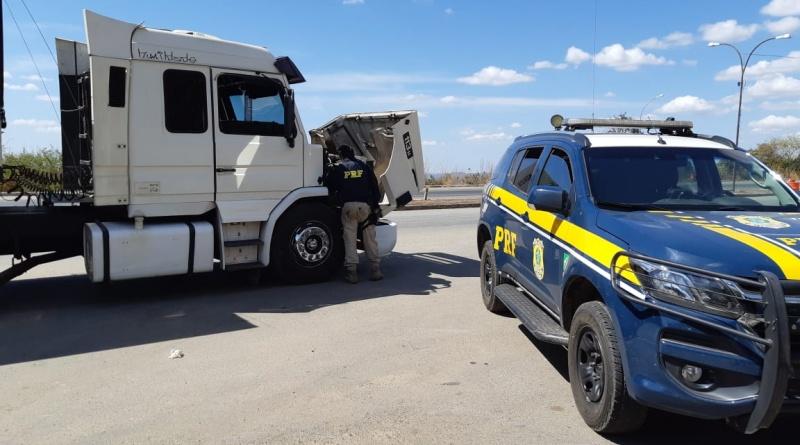 PRF recupera Scania 113H roubada em 1999 em Jundiaí