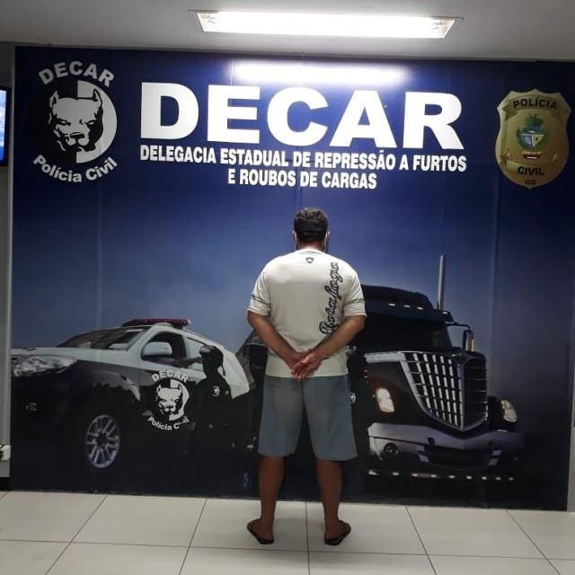 Motorista é preso após fingir que foi roubado para desviar carga de soja, em Bom Jesus de Goiás