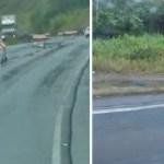 Com cadeira de rodas, homem está viajando de  Santa Catarina para Marabá (PA)