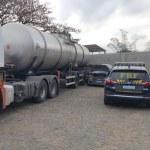 Caminhoneiro é flagrado vendendo gasolina a R$3,00 na BR-101