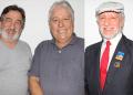 Marreco, Paulo Charuto, Gerson Rumayor | Foto: Jaime Júnior / Jornal Conexão Comunidade