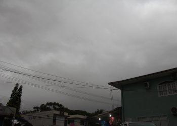 Chuva intensa atingiu o Norte da Ilha | Foto: Emanuel Soares / Grupo Conexão