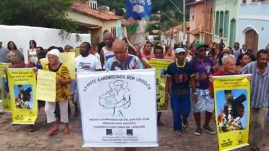 Photo of Chapada: Manifestantes protestam contra mudanças na Festa do Senhor dos Passos em Lençóis