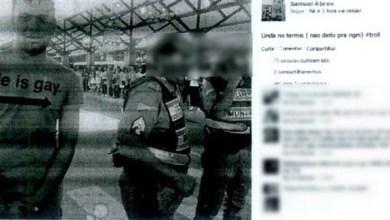 Photo of Brasil: Jovem é condenado por postar foto com camisa 'ele é gay' ao lado de PM