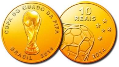 Photo of Banco Central começa a vender nesta quarta as moedas da Copa do Mundo