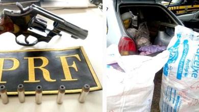 Photo of Chapada: PRF flagra comerciante com arma e produtos falsificados em Itaberaba