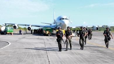 Photo of Homens e equipamentos das Forças Armadas chegam a Salvador para fazer segurança durante Copa 2014