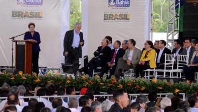 Photo of Wagner se levanta no meio do discurso de Dilma e leva bronca da presidente