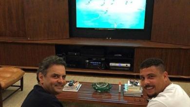 Photo of Ronaldo Fenômeno anuncia apoio a Aécio Neves em eleição presidencial