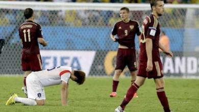 Photo of Copa 2014: Em jogo equilibrado no campo e no placar, russos e sul-coreanos empatam em 1 x 1