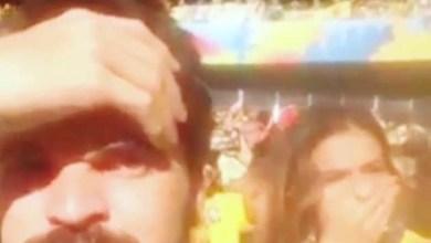 Photo of Vídeo: Torcedor solta 'pum' ao lado de Bruna Marquezine e filma a reação da global