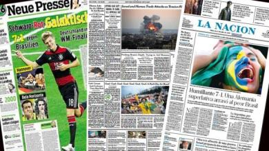 Photo of Capas de jornais internacionais destacam derrota da seleção brasileira