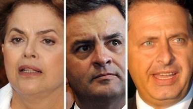 Photo of Dilma tem 38%, Aécio, 23%, e Campos, 9%, diz pesquisa Ibope
