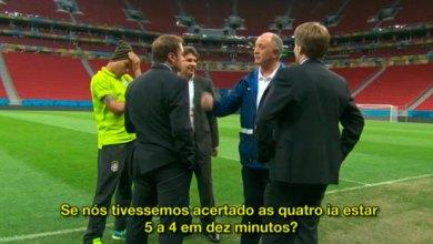 Photo of Áudio com comentários de Felipão sobre derrota para Alemanha vaza na internet; confira aqui