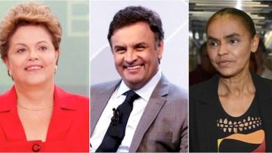 Photo of Ibope: Dilma tem 39% das intenções de voto; Marina, 25% e Aécio, 19%