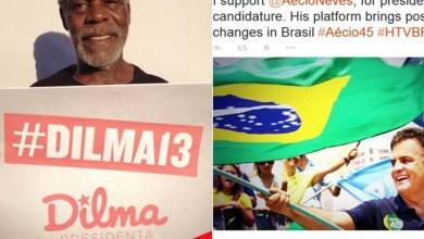 Photo of Atores de Hollywood manifestam apoio a Dilma e Aécio na internet