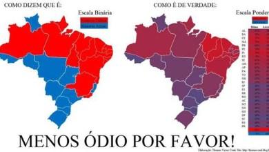 Photo of Mapa revela mistura de votos e mostra pouca diferença entre Nordeste e Sudeste