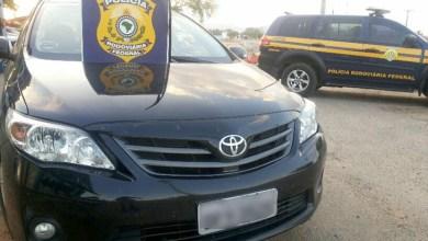 Photo of Chapada: PRF recupera veículo roubado e detém dupla por receptação em Itaberaba