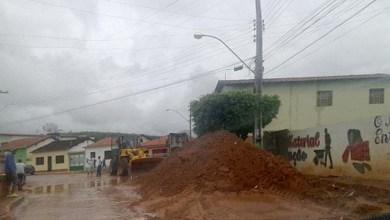 Photo of Chapada: Chuva causa transtornos e acumula terra nas ruas de Abaíra