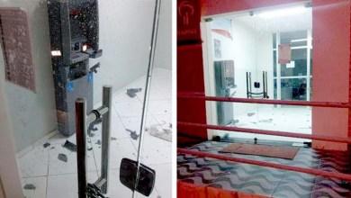 Photo of Caixa eletrônico é explodido por bandidos em Rafael Jambeiro