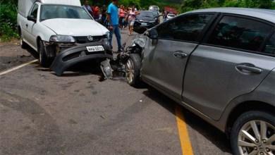 Photo of Chapada: Batida entre quatro veículos deixa 10 feridos em Jacobina; ex-atleta é uma das vítimas