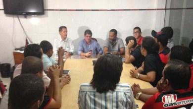 Photo of Presidente do Vitória reúne-se com torcidas organizadas
