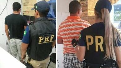 Photo of Chapada: Dois homens foragidos da justiça são detidos pela PRF em Itaberaba
