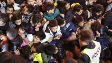 Photo of Mundo: Tumulto causa morte de 36 pessoas em comemoração do Ano-Novo na China