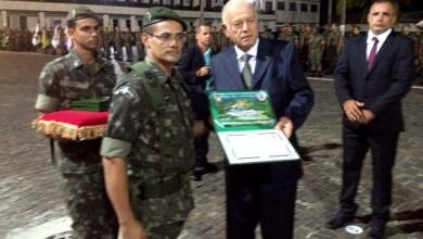 Photo of 19° Batalhão de Caçadores completa 95 anos e concede diploma a deputado