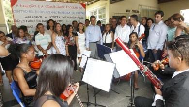 Photo of Governador segue agenda na Chapada Diamantina e visita obras de saneamento e escolas em Jacobina