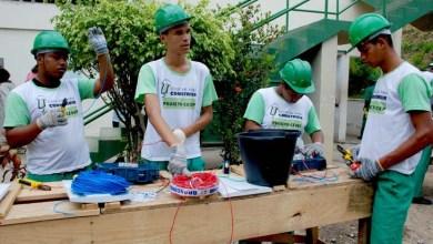 Photo of Jovens Baianos inscreve para cursos na área da construção civil