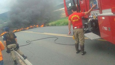 Photo of Chapada: PRF libera BR-242 próximo a Itaberaba após bloqueio por queima de objetos