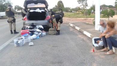 Photo of Chapada: PRF detém casal por tráfico de drogas na região de Seabra