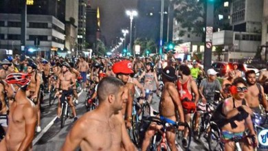 "Photo of Brasil: São Paulo terá ""pedalada pelada"" na noite deste sábado"