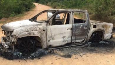 Photo of Grupo invade Miguel Calmon, explode bancos e ateia fogo em carro, tudo em 30 minutos