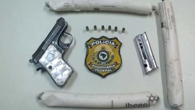 Photo of Chapada: PRF apreende arma e material explosivo na região de Ibitiara