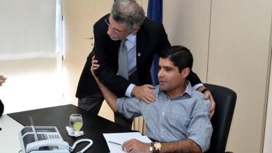 Photo of ACM Neto conversa com Herzem Gusmão sobre futuro de Vitória da Conquista