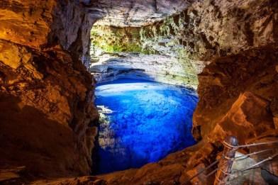 Poço Azul em Nova Redenção - FOTO Embratur