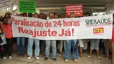 Photo of Servidores de saúde do estado param as atividades nesta quarta-feira