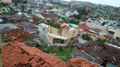 Photo of Defesa Civil calcula em mais de R$ 100 milhões prejuízos em Santa Catarina com tornado