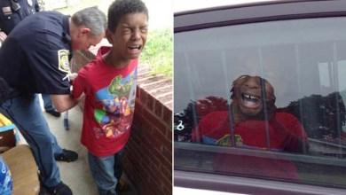 Photo of Mundo: Mãe pede a policiais para simular prisão de filho de 10 anos por mau comportamento