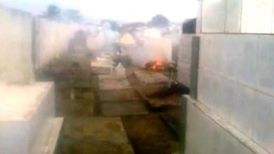 Photo of Ipirá: Moradores denunciam queima de caixões em cemitério da cidade
