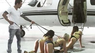 Photo of 'Rei do Instagram', empresário ostenta dinheiro e mulheres