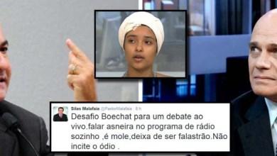 "Photo of Jornalista Ricardo Boechat dispara contra Silas Malafaia: ""Vai procurar uma rola"""