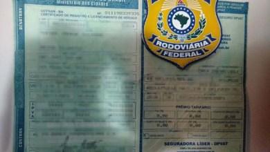 Photo of Chapada: PRF apreende documento de veículo falso no município de Itaberaba