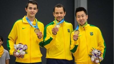 Photo of Brasil é medalha de ouro e tricampeão no tênis de mesa por equipes do Pan
